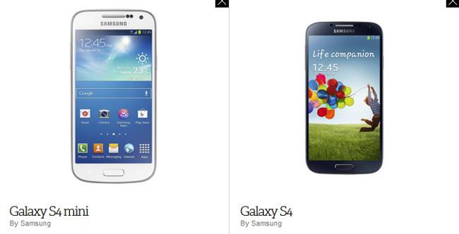 galaxy-s4-mini-comparativo-s4 Samsung anuncia Galaxy S4 Mini: Veja as diferenças em relação ao S4