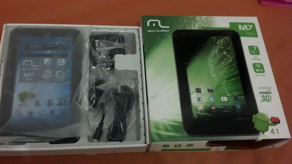 multilaser-m7-1 Recebemos o tablet lançamento da Multilaser, o M7