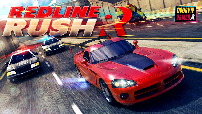 redline_rush_iphone_screenshot_1 RedLine Rush: Jogo de Corrida (EndlessRun) para Android e iOS!