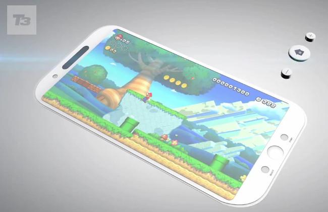 smarphone-da-nintendo Veja como seria um smartphone feito pela Nintendo