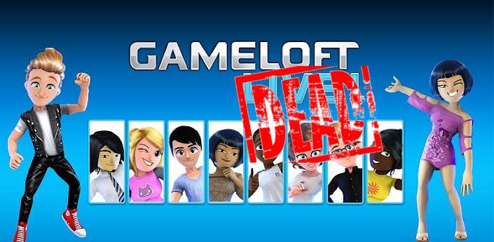 Gameloft-Live-dead Cadê a Gameloft Live que estava aqui?