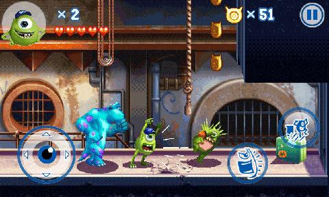 MonstersUniversity_800x480_EN_screen_04 Top 5 Melhores Jogos Android de Filmes das Férias de Julho