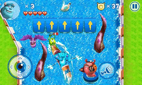 MonstersUniversity_800x480_EN_screen_05 Gameloft lança jogo do filme Universidade Monstros para Android e Java