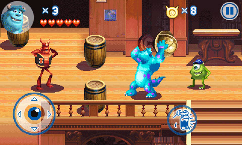 MonstersUniversity_800x480_EN_screen_07 Gameloft lança jogo do filme Universidade Monstros para Android e Java