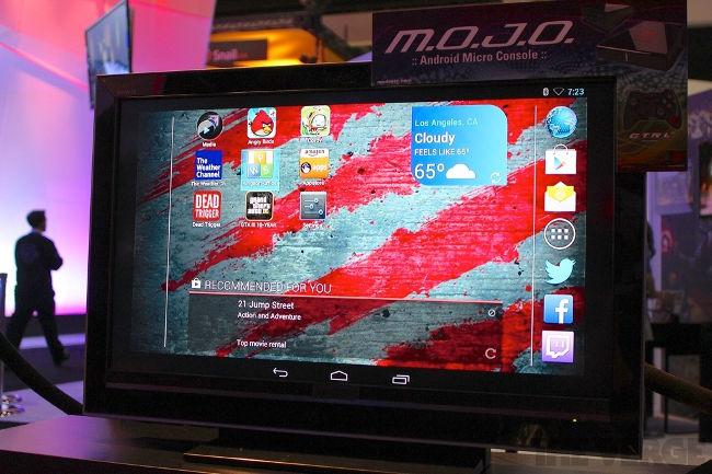 console-de-videogame-com-android E3 2013: Mad Catz apresenta Project M.O.J.O - Console com Android