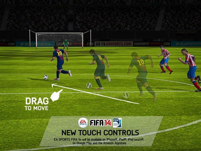 e3-drag-to-move FIFA 14 para Android Confirmado!