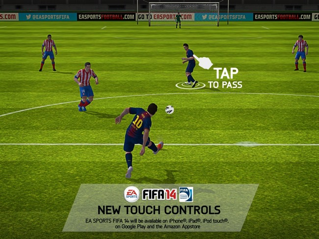 e3-tap-to-pass FIFA 14 para Android Confirmado!