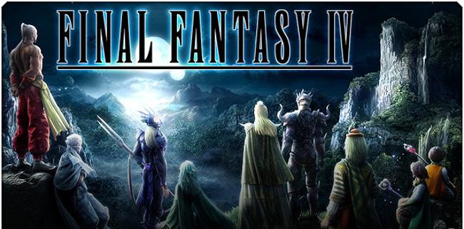 final-fantasy-IV Final Fantasy IV, um dos melhores, chega ao Android