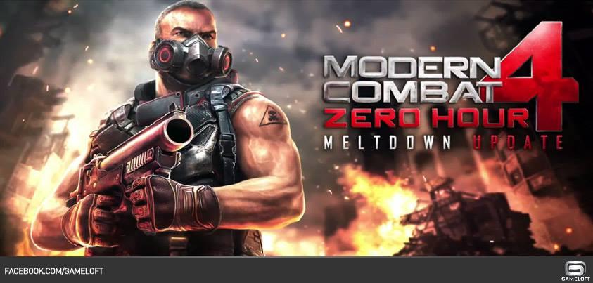 modern-combat-4-meltdown-update Modern Combat 4 ganha atualização com novos mapas, armas e etc