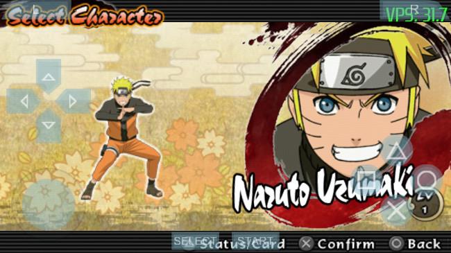 psp-naruto-para-android Emulador do PSP para Android já roda Naruto, God of War e muito mais
