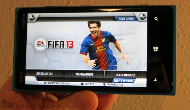 FIFA-13-windows-phone-8 FIFA 13 chega para Windows Phone... e o Android?
