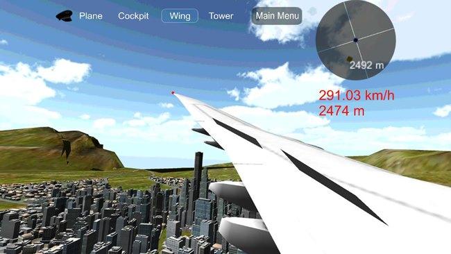 Flight-Simulator-Android Flight Simulator Boeing Hawaii - Jogo de avião para Android Grátis
