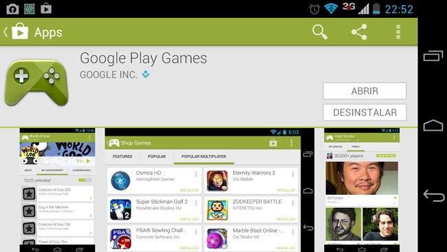 Google-Play-Games-aplicativo Aplicativo Google Play Games está disponível para baixar
