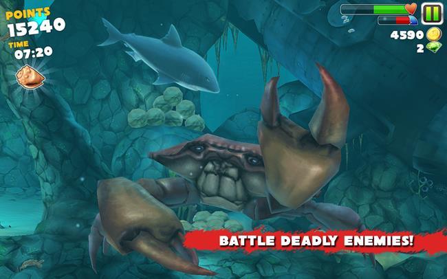 Hungry-Shark-Evolution 25 Melhores Jogos para Android Grátis: 1º Semestre de 2013