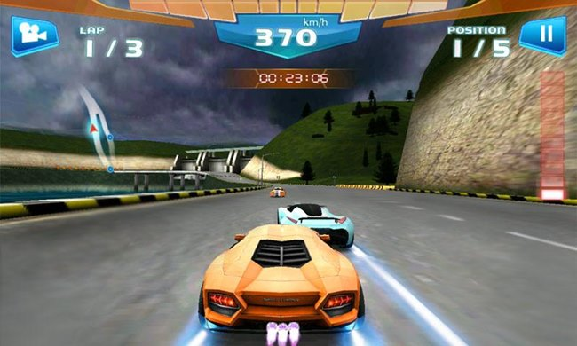 fast-racing-3d-android Fast Racing 3D - Jogo de Corrida Grátis para Android