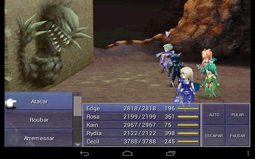 final-fantasy-4-portugues-android Atualização adiciona legendas em português para Final Fantasy IV (Android)
