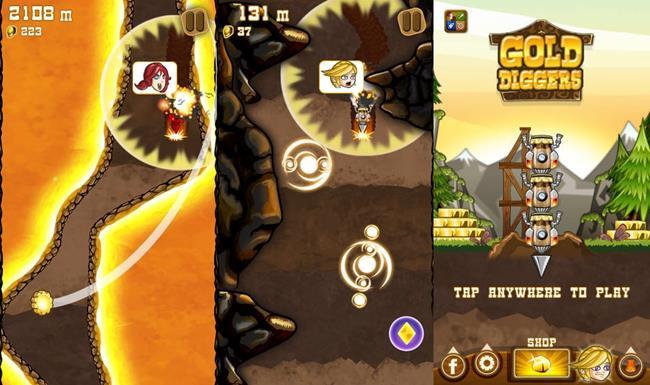 Gold-diggers-iphone Melhores Jogos da Semana #8