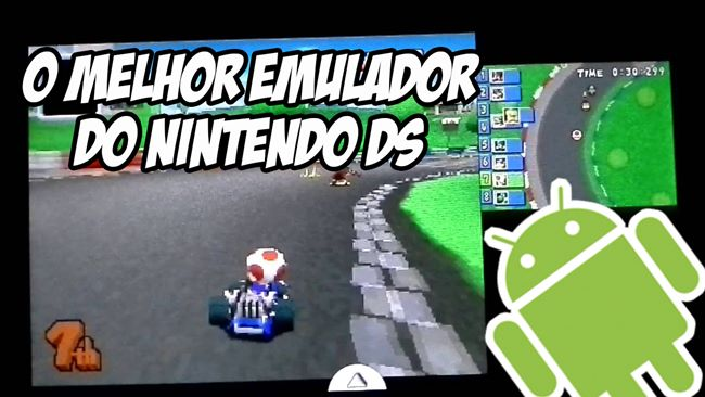 Melhor-emulador-Nintendo-DS-Android DraStic é o melhor emulador de Nintendo DS para Android