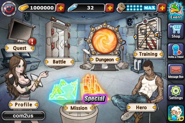 heroes-war-android-2 Heroes War é um RPG Grátis para Android com garotas caçadoras de monstros