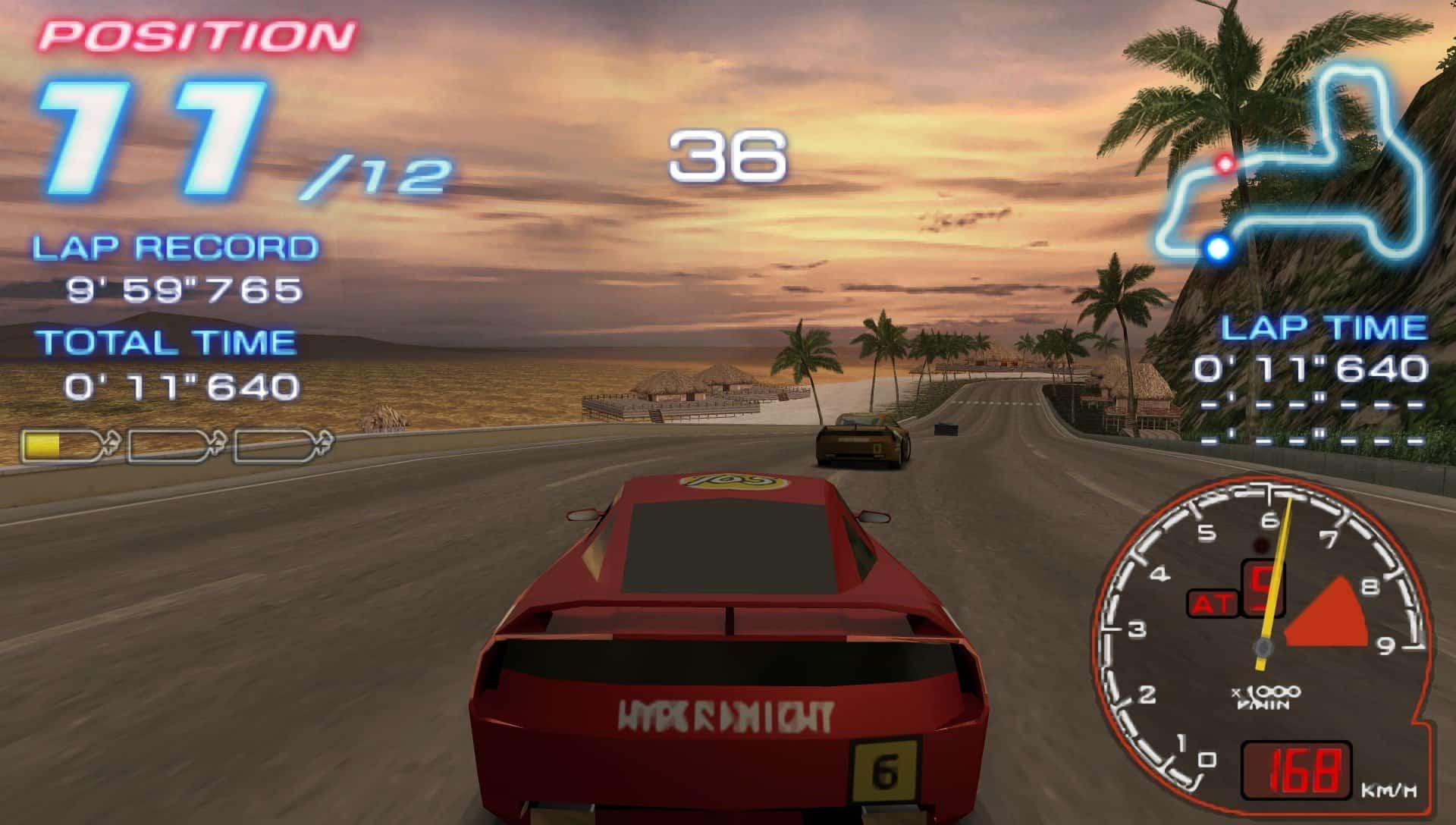 ridgeracer2-1 Lista de jogos compatíveis com PPSSPP (Emulador do PSP para Android)