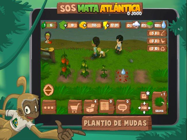 sos-mata-atlantica-android SOS Mata Atlântica, é um jogo brasileiro com consciência ambiental
