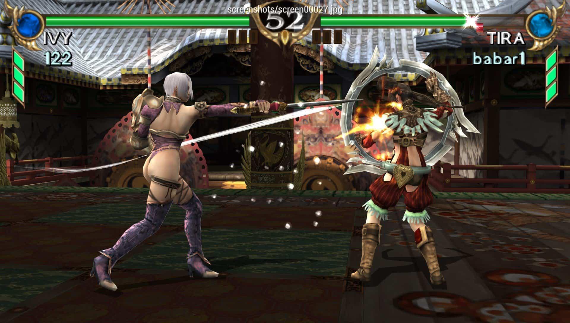 soulcalibur-1 Lista de jogos compatíveis com PPSSPP (Emulador do PSP para Android)