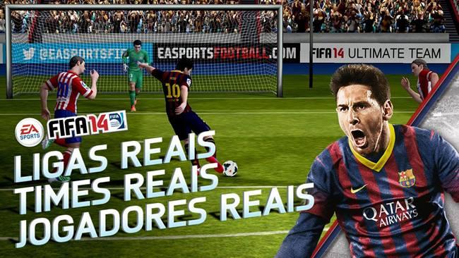 FIFA-14-Android FIFA14 chega de graça para Android; Baixe agora!