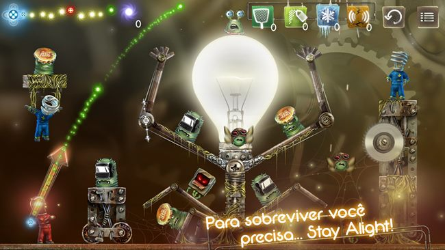 "StayAlight-1 Stay Alight Lite é um puzzle ""iluminado"" para Android"