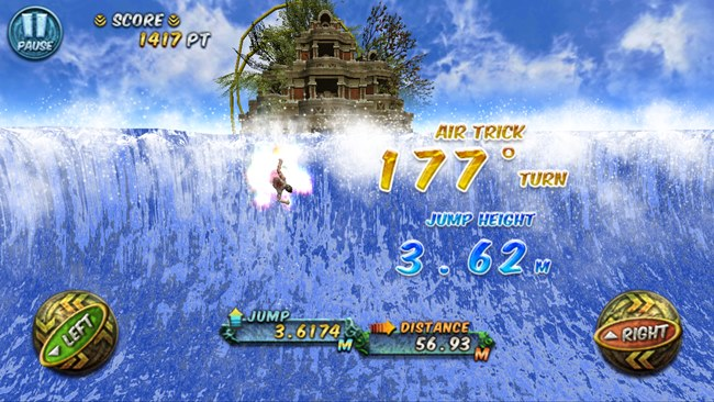 ancient-surfer-1 Ancient Surfer é um jogo de surfe gratuito para Android