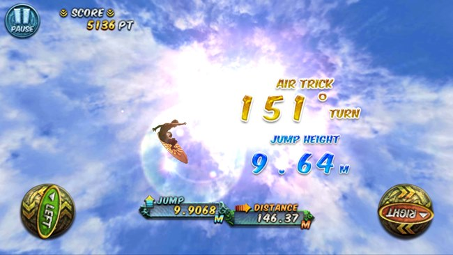 ancient-surfer-2 Ancient Surfer é um jogo de surfe gratuito para Android