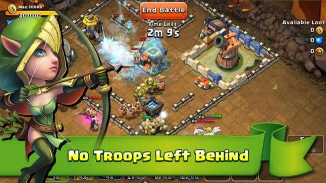 castle-clash-android 4 Jogos Grátis no estilo 'Clash of Clans' para Android