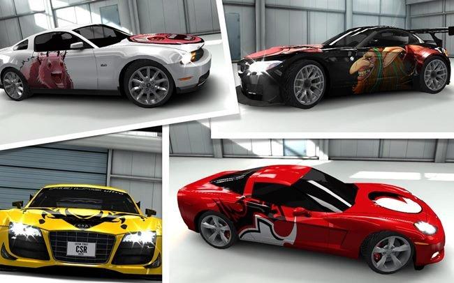 csr-racing-android-iOS. CSR Racing é um jogo de rachas de carros com gráficos incríveis