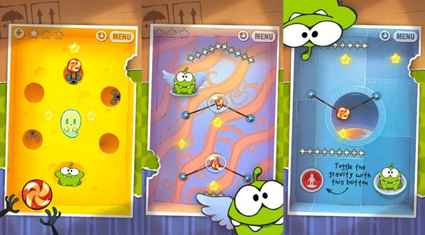 cut-the-rope-android-1 Cut the Rope recebe versão gratuita para Android