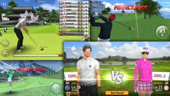 golf-star 25 Melhores Jogos grátis para iPhone e iPad - 1º Semestre de 2013