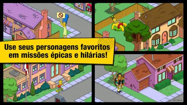 simpsons-em-portugues Melhores Jogos da Semana #9 - Android, iOS e Java