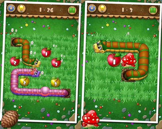 snake-apples Melhores Jogos para Android Grátis – Agosto 2013