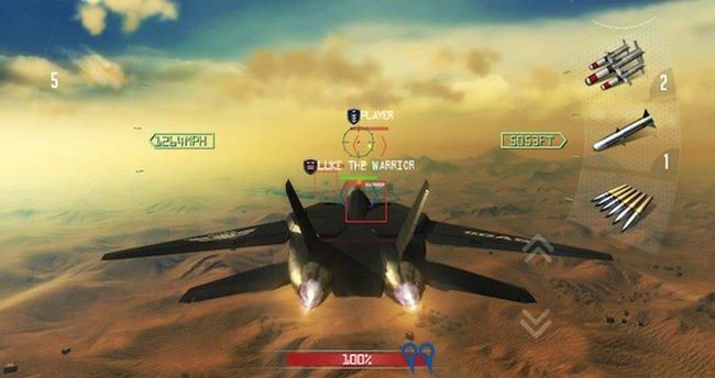 AirSupremacy-android Air Supremacy é um jogo grátis para Android com aviões de combate