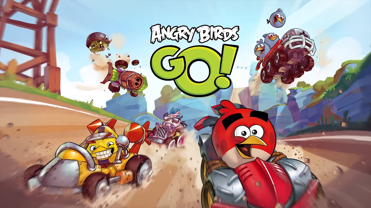 Angry-Birds-Go Primeiro vídeo gameplay de Angry Birds Go!