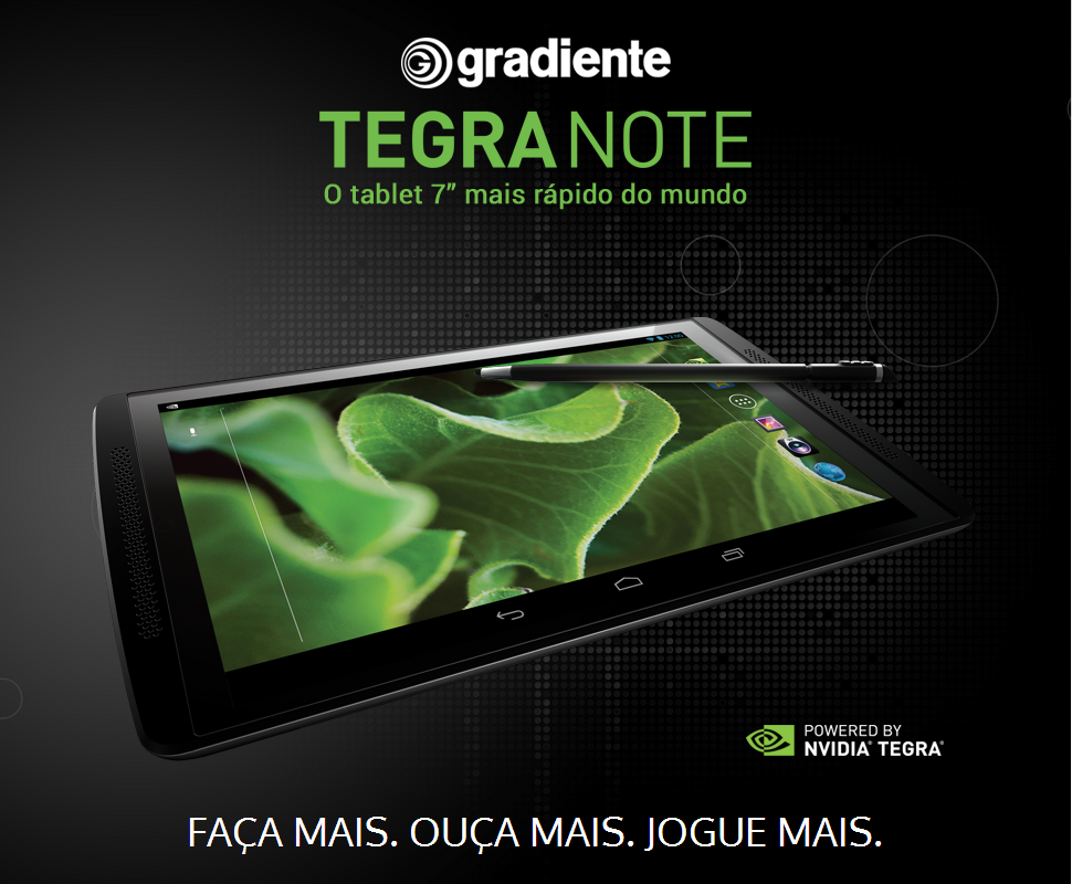 Gradiente-Tegra-Tab O que esperar do Gradiente Tegra Note?