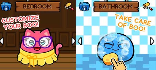 Myboo-android-ios My Boo é um dos melhores jogos no estilo 'Pou' para Android e iOS