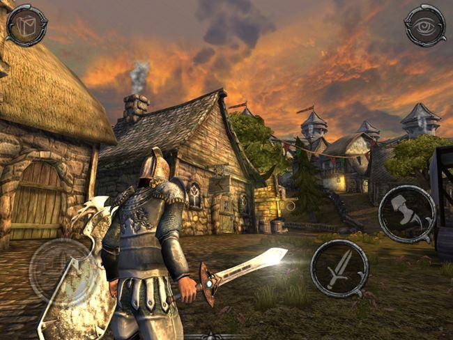 Ravensword-2-2 25 Melhores Jogos de Mundo Aberto OFFLINE do Android e iOS
