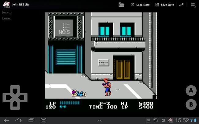Screenshot-JohnNESLite Melhores Emuladores Grátis para Android (Nintendo DS, PSP e etc)