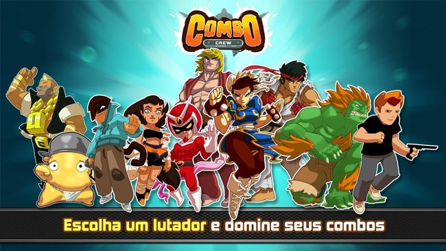 combo-crew-street-fighter Combo Crew ganha personagens de Street Fighter, jogo é para Android e iOS