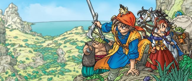 dragon-quest-8-wallpaper Série de RPGs Dragon Quest irá estrear no Android e iOS