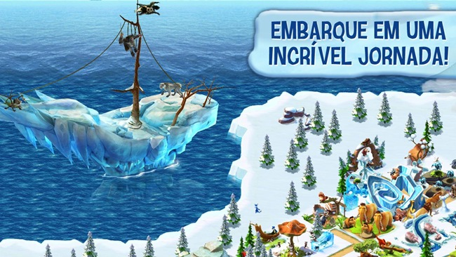 era-do-gelo-vilarejo Jogos Android para Crianças no Dia das Crianças
