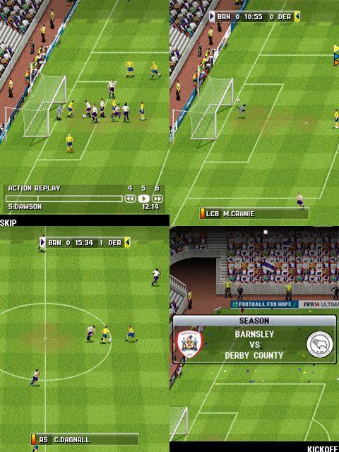 fifa-14-java FIFA 14 chega para os celulares comuns com Java