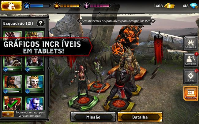 heroes-of-dragon-age Heroes of Dragon Age surge para Android; game é gratuito