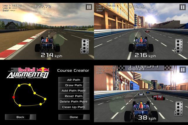 jogo-de-formula-um-android-iOS Red Bull AR Reloaded é o melhor jogo de F1 para Android, até o momento