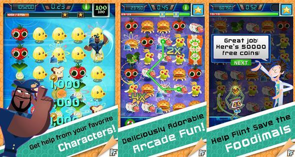 """jogo-para-android-ta-chovendo-hamburger-2 Jogo do filme """"Tá Chovendo Hamburguer 2 """" para Android e iOS"""