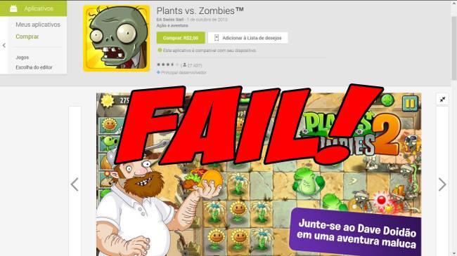 plants-vs-zombies-2-android Plants vs Zombies 2 é finalmente lançado no Android, mas não está disponível no Brasil
